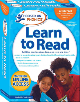 Hooked on Phonics Learn to Read Levels 7 & 8 - Second Grade