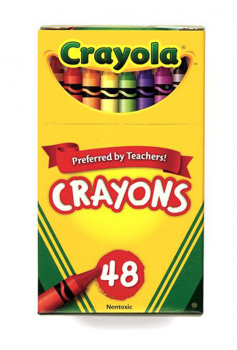 Crayola Crayons 48 Count Box