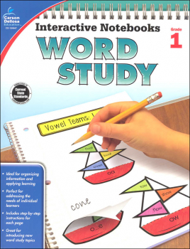 Interactive Notebooks: Word Study - Grade 1