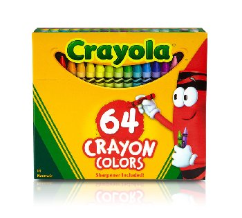 Crayola Crayons 64 Count Box
