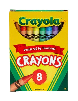 Crayola Crayons 8 Count Box