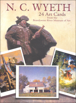 N.C. Wyeth 24 Art Cards