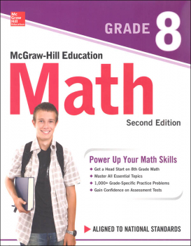 McGraw-Hill Math Gr 8 2ED (Power Up Your Math Skills)
