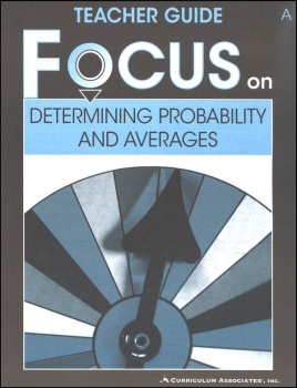 Determining Probability and Averages Teacher Guide A