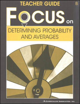 Determining Probability and Averages Teacher Guide B