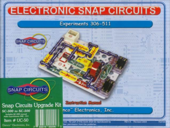 Snap Circuits Upgrade Kit SC-300 to SC-500