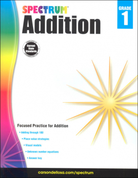 Spectrum Addition - Grade 1 (Spectrum Early Learning)