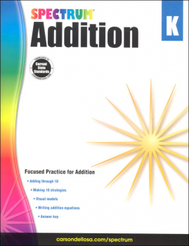 Spectrum Addition - Grade K (Spectrum Early Learning)