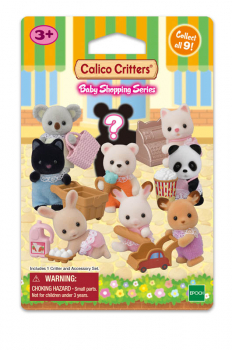Calico Critters Baby Shopping Series Blind Bag (Assorted Style)