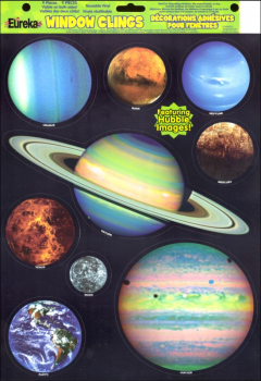 Hubble Image Planets Decoration Clings