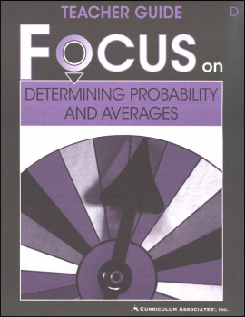 Determining Probability and Averages Teacher Guide D
