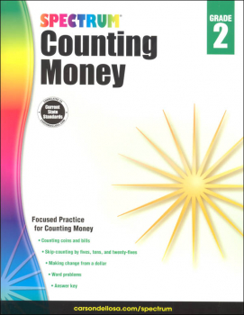 Spectrum Counting Money - Grade 2 (Spectrum Early Learning)
