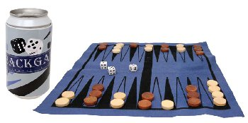 Backgammon in a Can Game