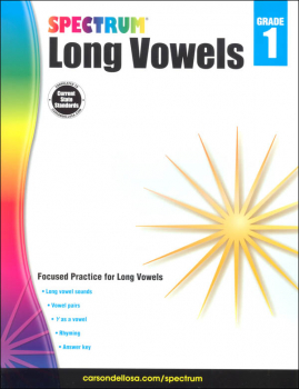Spectrum Long Vowels - Grade 1 (Spectrum Early Learning)