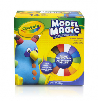 Crayola Model Magic Deluxe Variety Pack of 14