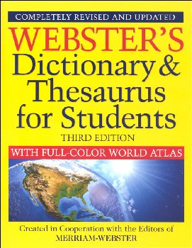 Webster's Dictionary & Thesaurus for Students 3rd ed.