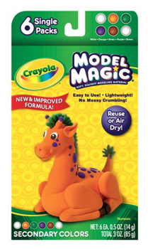 Crayola Model Magic Secondary Colors 6 Count