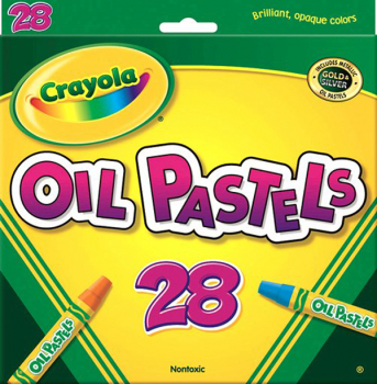 Crayola Oil Pastels 28 Count