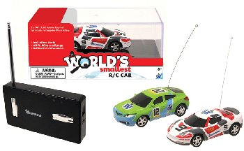 World's Smallest R/C Car