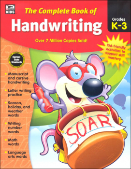 Complete Book of Handwriting Grades K-3