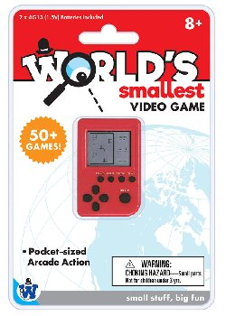 World's Smallest Video Game