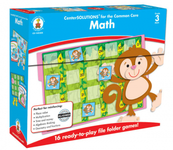 Math File Folder Games - Grade 3