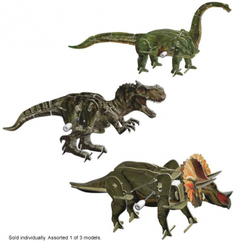 Smithsonian Motorized 3D Puzzle - Dinos Assorted (1 of 3 possible models)