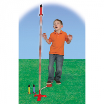 Jump Rocket Mini Set (Launcher & 3 Rockets)