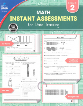 Math Instant Assessments for Data Tracking - Grade 2
