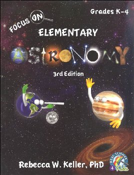 Focus On Elementary Astronomy Student Textbook - 3rd Edition (hardcover)