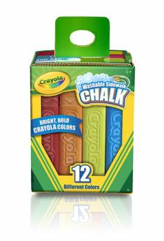 Crayola Washable Sidewalk Chalk Pack 12 Count