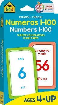 Numeros 1-100/Numbers 1-100 Flash Cards