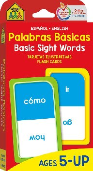Bilingual Beginning Sight Words Flash Cards