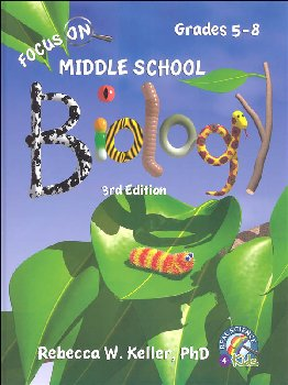 Focus On Middle School Biology Student Textbook - 3rd Edition (hardcover)