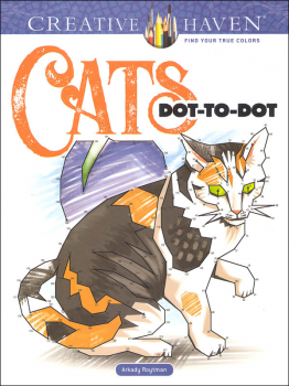 Cats Dot-to-Dot (Creative Haven)