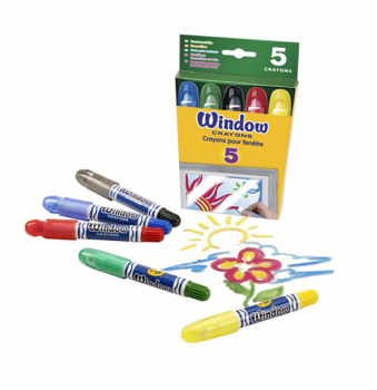 Crayola Window Crayons 5 Count