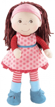 "Clara - 13.75"" Cloth Doll (Lilli and Friends)"
