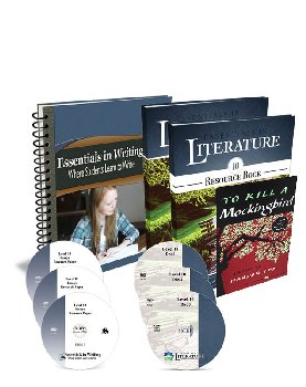 Essentials in Writing and Literature Level 10 Bundle with DVDs