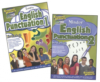 English Punctuation 2-Pack DVD