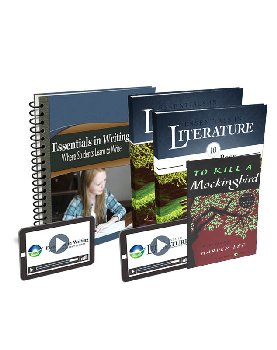 Essentials in Writing and Literature Level 10 Bundle with Online Video Subscription
