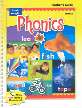 Steck-Vaughn Phonics Level A Teacher