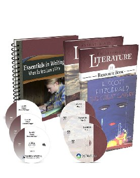 Essentials in Writing and Literature Level 11 Bundle with DVDs