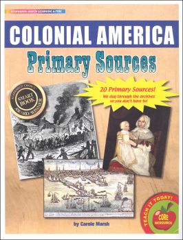 Colonial America Primary Sources