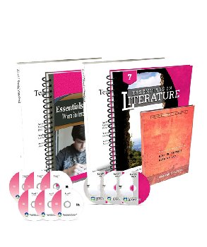 Essentials in Writing and Literature Level 7 Bundle with DVDs