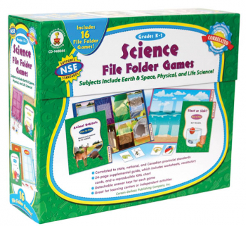 Science File Folder Games Grades K-1