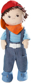 "Matze - 12"" Cloth Doll (Lilli and Friends)"