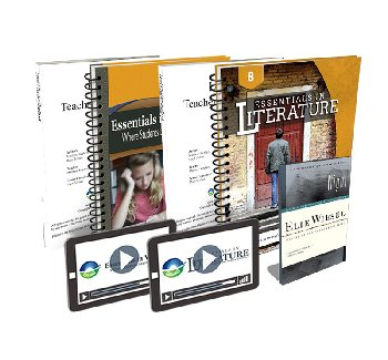 Essentials in Writing and Literature Level 8 Bundle with Online Video Subscription