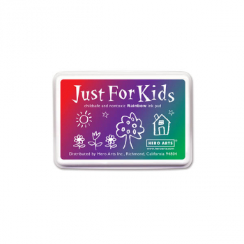 Rainbow (3-Color) Just for Kids Ink Pad
