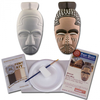 Bantu Migration - African Mask (Hands on History Pottery Kits)