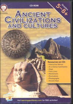 Ancient Civilizations and Cultures CD-ROM